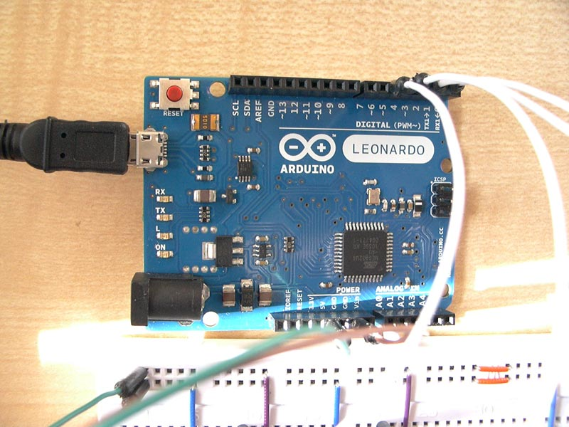 Lösung für eingaben über usb neuer arduino leonardo